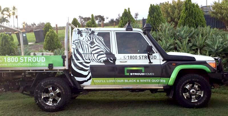 Stroud Homes Wide Bay vehicle ute